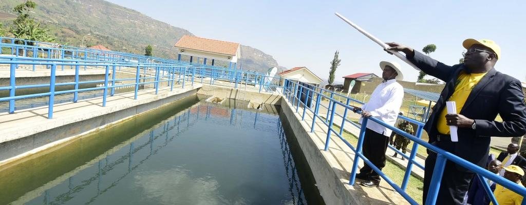 Kikyenkye- Nyabuhikye1 Lirima water treatment Plant - Namisindwa District
